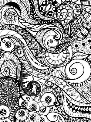 Controlled Chaos Print by Shawna Rowe