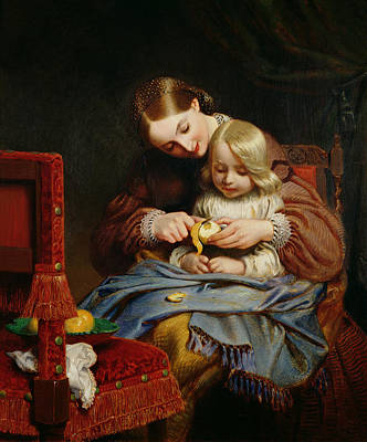 Illness Painting - Convalescent by Charles West Cope