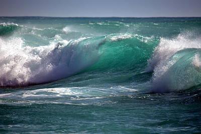 Converging Waves Original by Lori Seaman