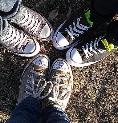 Converse Circle Original by Audrey Paulson