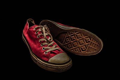 Converse No 3 - Red Print by Lubos Kavka