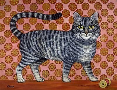 Cookie Cat Print by Linda Mears