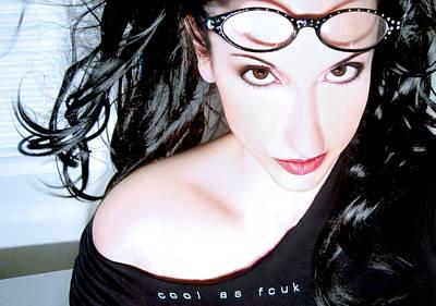 Self Portrait Photograph - Cool As Fcuk - Self Portrait by Jaeda DeWalt