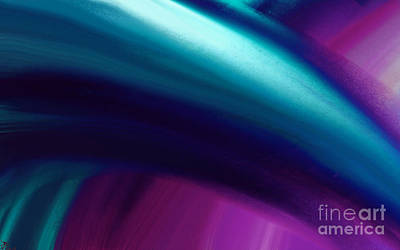 Artrage Painting - Cool Breeze by Anita Lewis