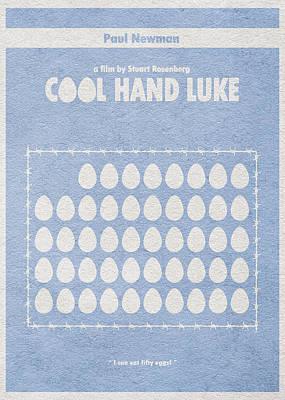 Cool Hand Luke Print by Ayse Deniz