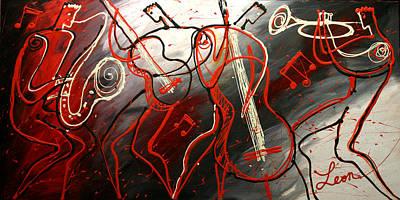 Cool Jazz 2 Original by Leon Zernitsky