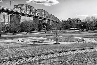Coolidge Park In Chattanooga Print by Mountain Dreams