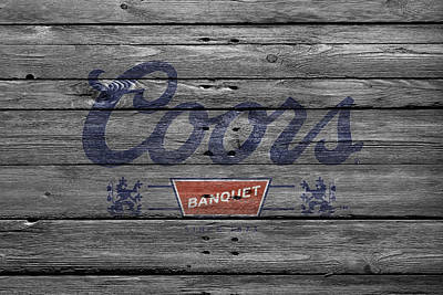 Handcrafted Photograph - Coors by Joe Hamilton