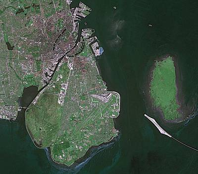 Satellite Image Photograph - Copenhagen by European Space Agency/cnes, Spot Image