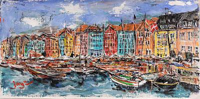 Copenhagen Print by Jorge Garza