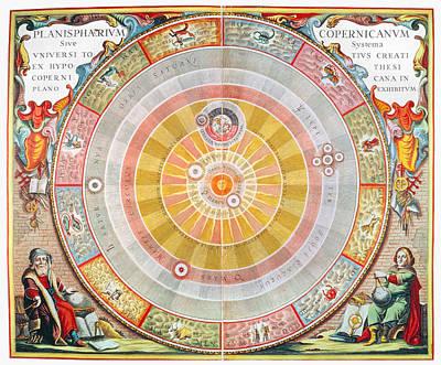 Copernican Universe, 1660 Print by Granger