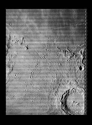 Copernicus Lunar Crater Print by Nasa/detlev Van Ravenswaay