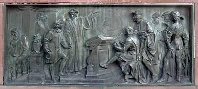 Copernicus Presenting His Theory Print by Detlev Van Ravenswaay