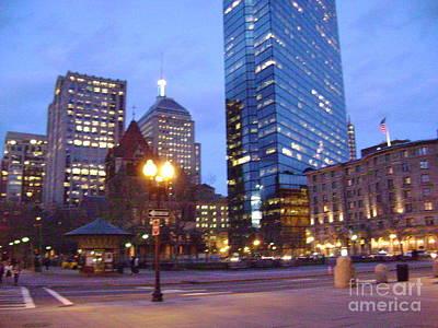 Copley Square - Boston Original by Adrienne G