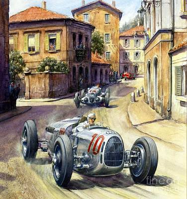 U.s.pd Painting - Coppa Acerbo - Poster by Pg Reproductions