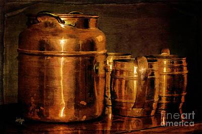 Copper Print by Lois Bryan