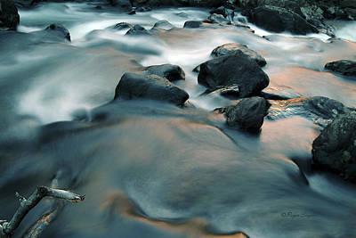 Montana Landscape Photograph - Copper Stream 1 by Roger Snyder