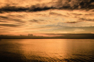 Copper Sunset Print by Susan Hager