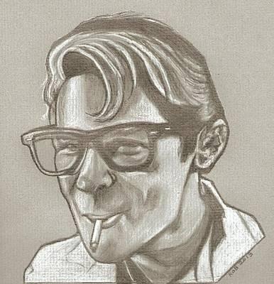 Corey Drawing - Corey Feldman Drawing by Robert Crandall