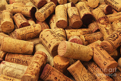 Wine Cellar Photograph - Corks by Stefano Senise