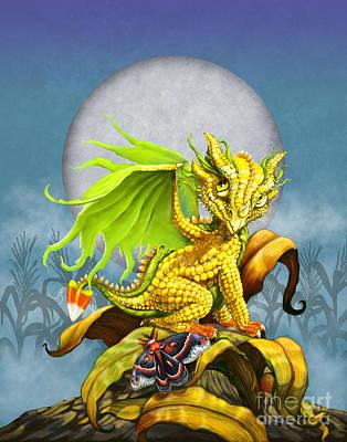 Candy Digital Art - Corn Dragon by Stanley Morrison