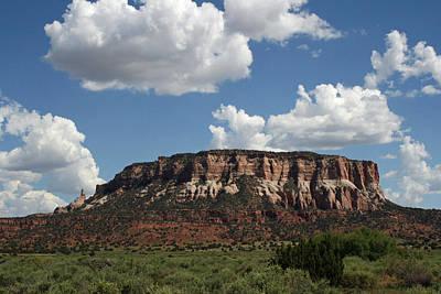 Elizabeth Rose Photograph - Corn Mesa Dowa Yalanne In Zuni New Mexico by Elizabeth Rose