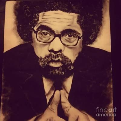 Cornel West Print by Miss Kitoko