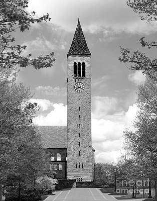 Cornell University Mc Graw Tower Print by University Icons