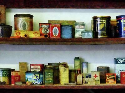 Tea Photograph - Corner Grocery Store by Susan Savad
