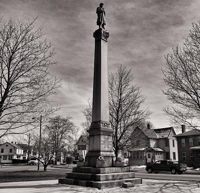 Corning Civil War Monument Print by Joshua House