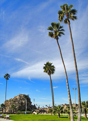 Corona Del Mar State Beach - 01 Print by Gregory Dyer