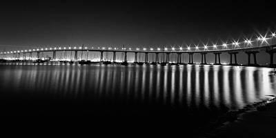 Bay Bridge Photograph - Coronado Bay Bridge by Ryan Weddle