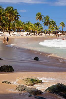 Coronado Beach In San Juan, Puerto Rico Print by Brian Jannsen