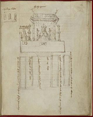 Coronation Of Anne Boleyn Print by British Library