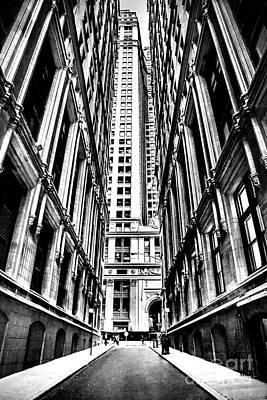 Suspension Photograph - Corporatocracy by Az Jackson