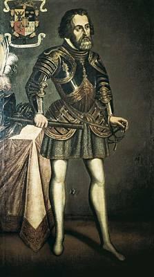 Cort�s, Hern�n 1485-1547. Painting Print by Everett