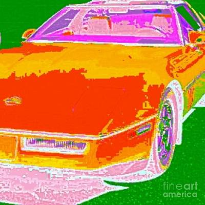 Etc. Digital Art - Corvette Dreams by James Eye