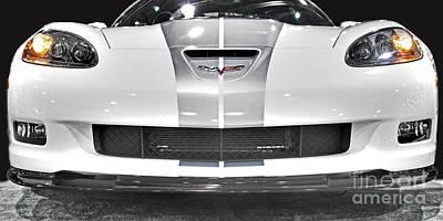 Sting Ray Photograph - Corvette  by Tom Gari Gallery-Three-Photography