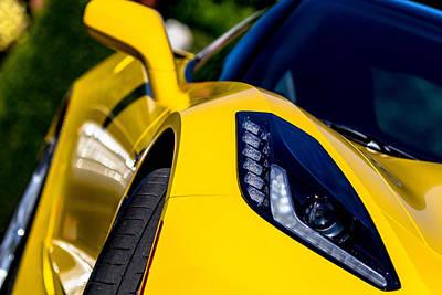 Photograph - Corvette by Jahred Allen