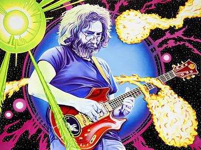Cosmic Jerry Original by Joshua Morton