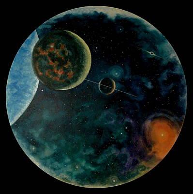 Painting - Cosmic Light by Len Sodenkamp