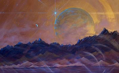 Cosmic Light Series Original by Len Sodenkamp