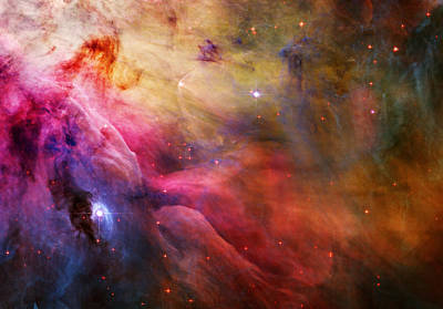 Planetary System Painting - Cosmic Orion Nebula by Celestial Images