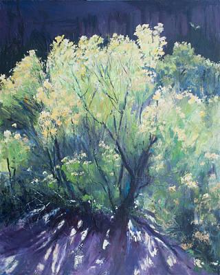 Southern Utah Painting - Cosmic Purpose by Kit Hevron Mahoney