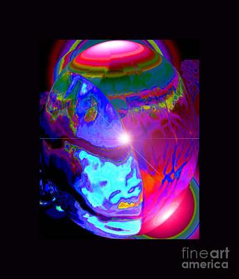 Cosmic Tectonics Print by Susanne Still