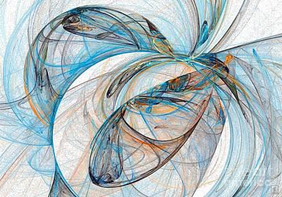 Artport Digital Art - Cosmic Web 6 by Jeanne Liander