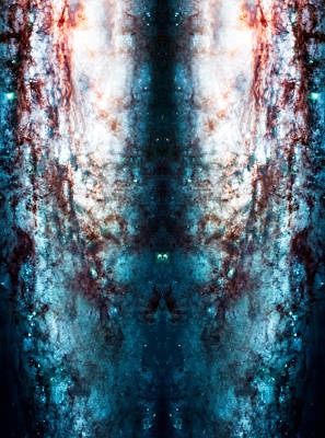 Cosmic Winter Print by The  Vault - Jennifer Rondinelli Reilly