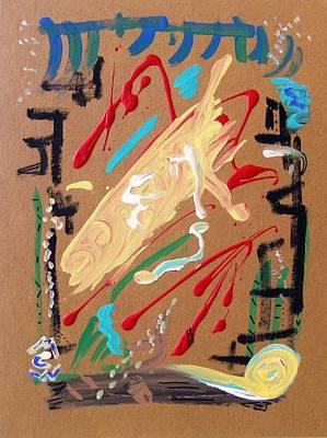 Visionary Art Drawing - Cosmopolitan by Mary Carol Williams