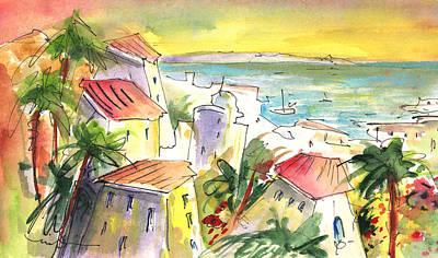 Costa Adeje 04 Print by Miki De Goodaboom