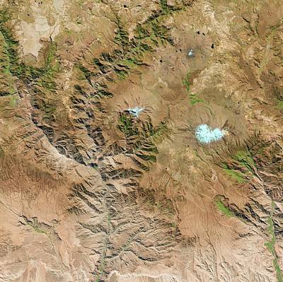 Cotahuasi Canyon Print by Us Geological Survey